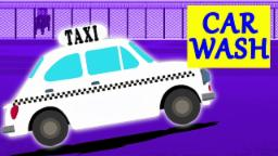 Táxi | Lavagem de carro para crianças | Vídeo educacional | Kids Video | Car Wash | Taxi For Kids