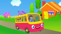 Wheels on the bus rhyme | Preschool learning