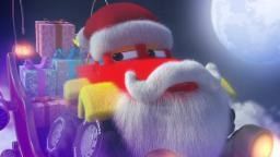 Monster Truck Dan | Christmas night | Jingle Bells | Christmas carols for kids