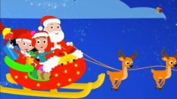 Santa bajando la chimenea | Villancicos de Navidad | Canción santa | Santa Coming Down the Chimney