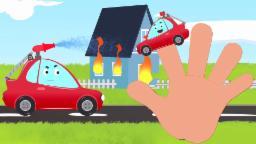 mágico Coche dedo familia   Cartoon para cabritos   niños rima   Magic Car Finger Family