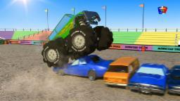 монстр грузовик СНОС | Monster Truck DEMOLITION
