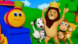 If You Are Happy And You Know It | Learn Nursery Rhymes With Bob The Train