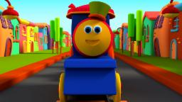 Bob The Train | Wheels On The Train | Songs For Kids And Childrens | Wheels On The Bus
