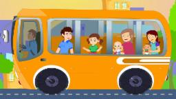 Wheels On The Bus Nursery Rhymes