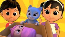 Rocha um bebê do adeus | Canção para crianças | Song For Children | Preschool Song | Rock a Bye Baby