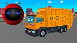 l' zobic - un camion à ordures | Zobic -  Garbage Truck