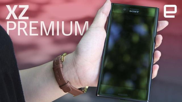 Sony XZ Premium Camera Features and Design | IRL