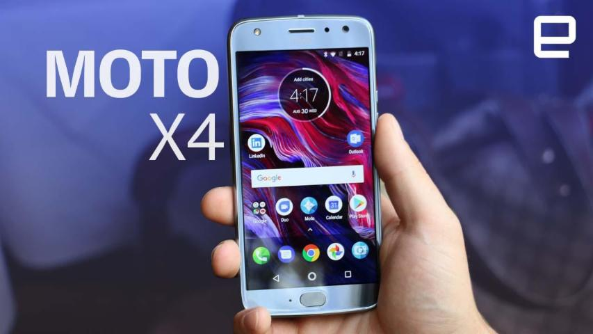 Moto X4 hands-on at IFA 2017
