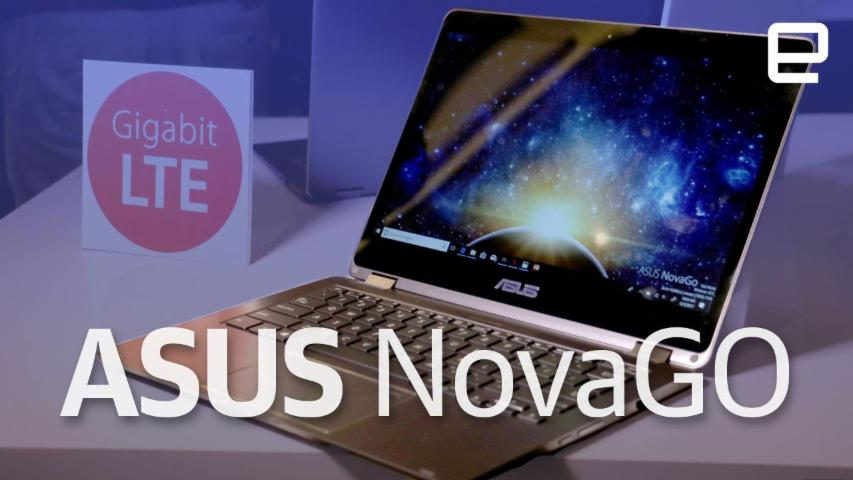 ASUS NovaGO hands-on