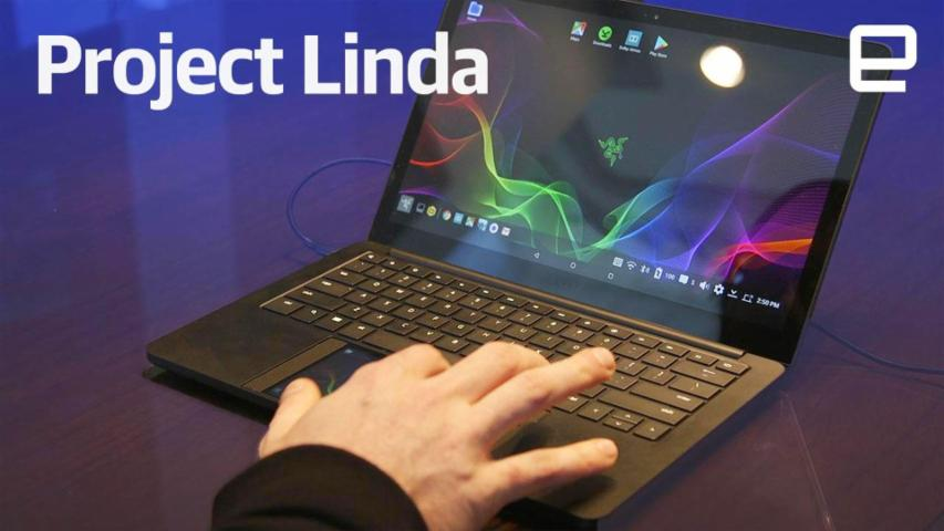 Project Linda hands-on at CES 2018