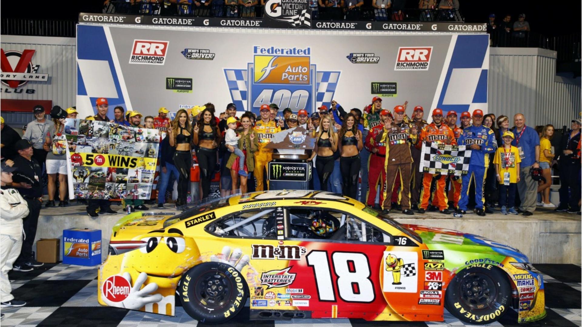 Sports Top Stories - Kyle Busch Wins At Richmond Raceway