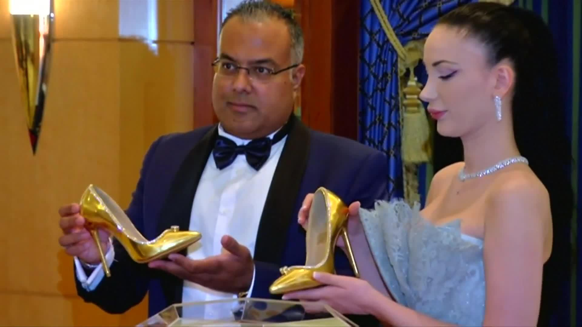 Pair Of Shoes Cost $17 Million