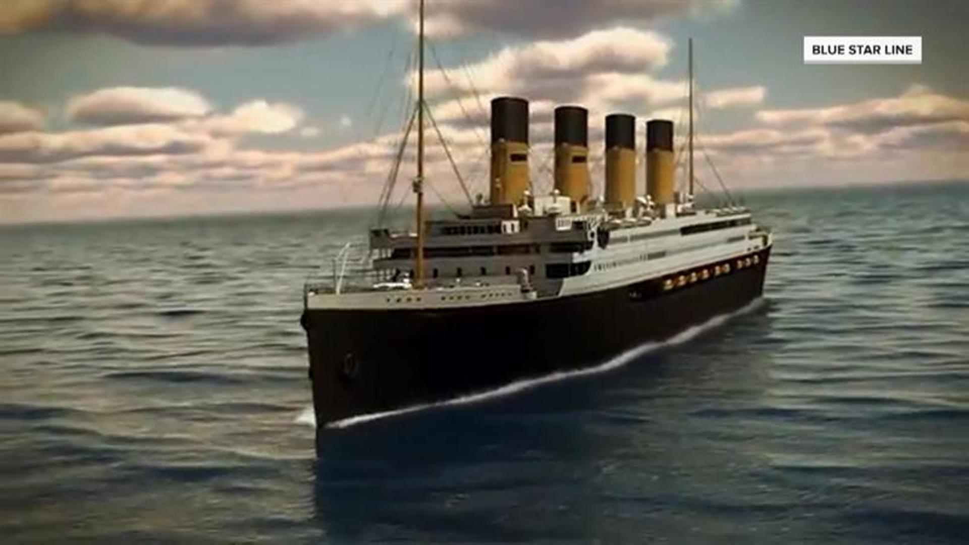Weird, Odd and Bizarre News - Titanic II To Set Sail, Retrace Infamous Route of Original Ship