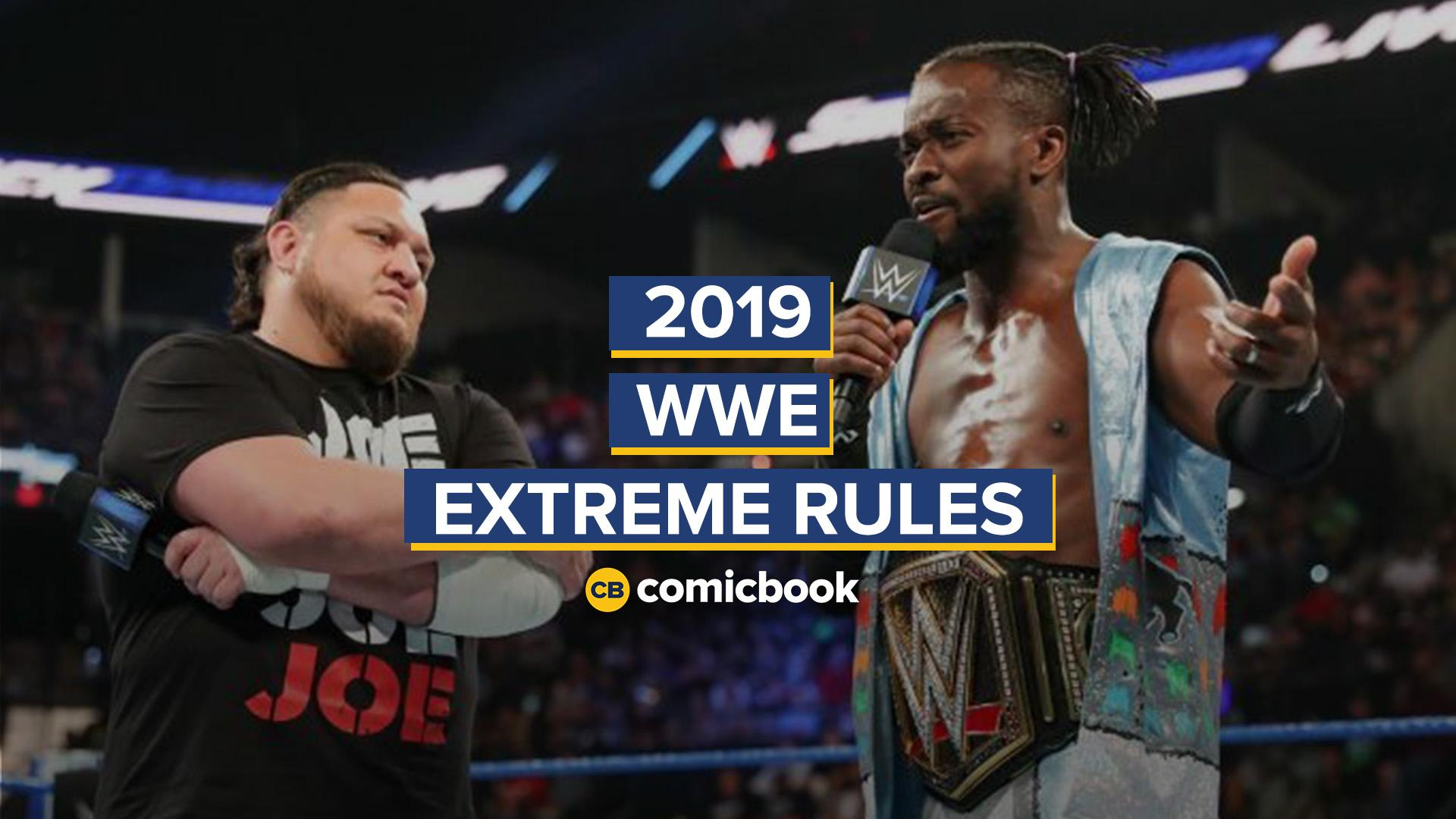 2019 WWE Extreme Rules Highlights