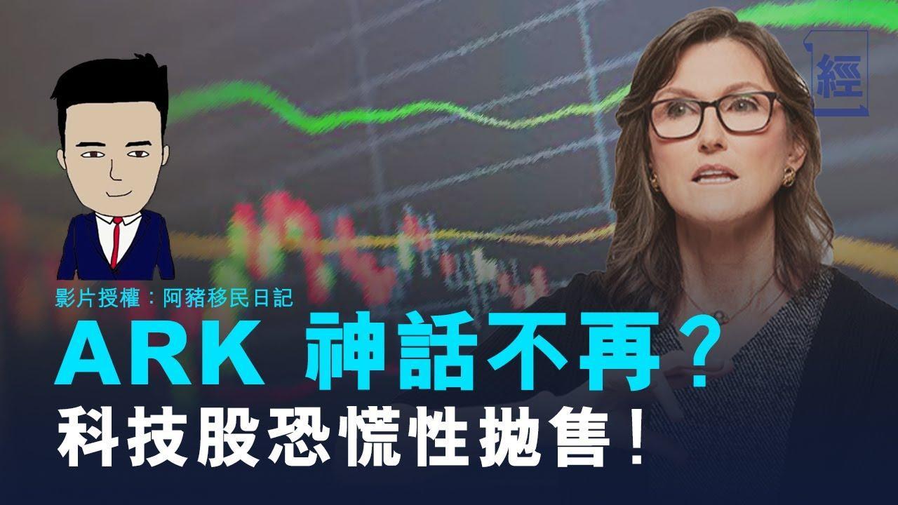 ARK 神話不再! 科技股恐慌性拋售?︳阿豬移民日記︳連登契媽【投理滿門】